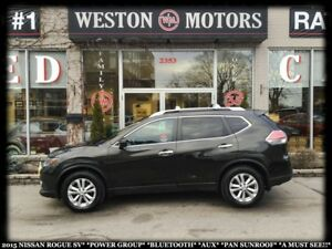 2015 Nissan Rogue SV*POWERGROUP*BLUETOOTH*AUX*PANORAMIC SUNROOF*