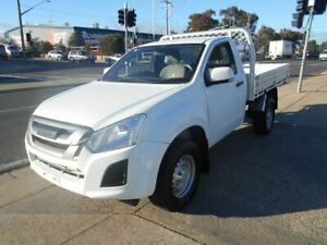 2017 Isuzu D-MAX MY17 SX White 6 Speed Sports Automatic Cab Chassis Fyshwick South Canberra Preview