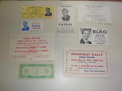 McKeesport, PA - Vintage, '1960s' - Original - Political, Election, Memorabilia