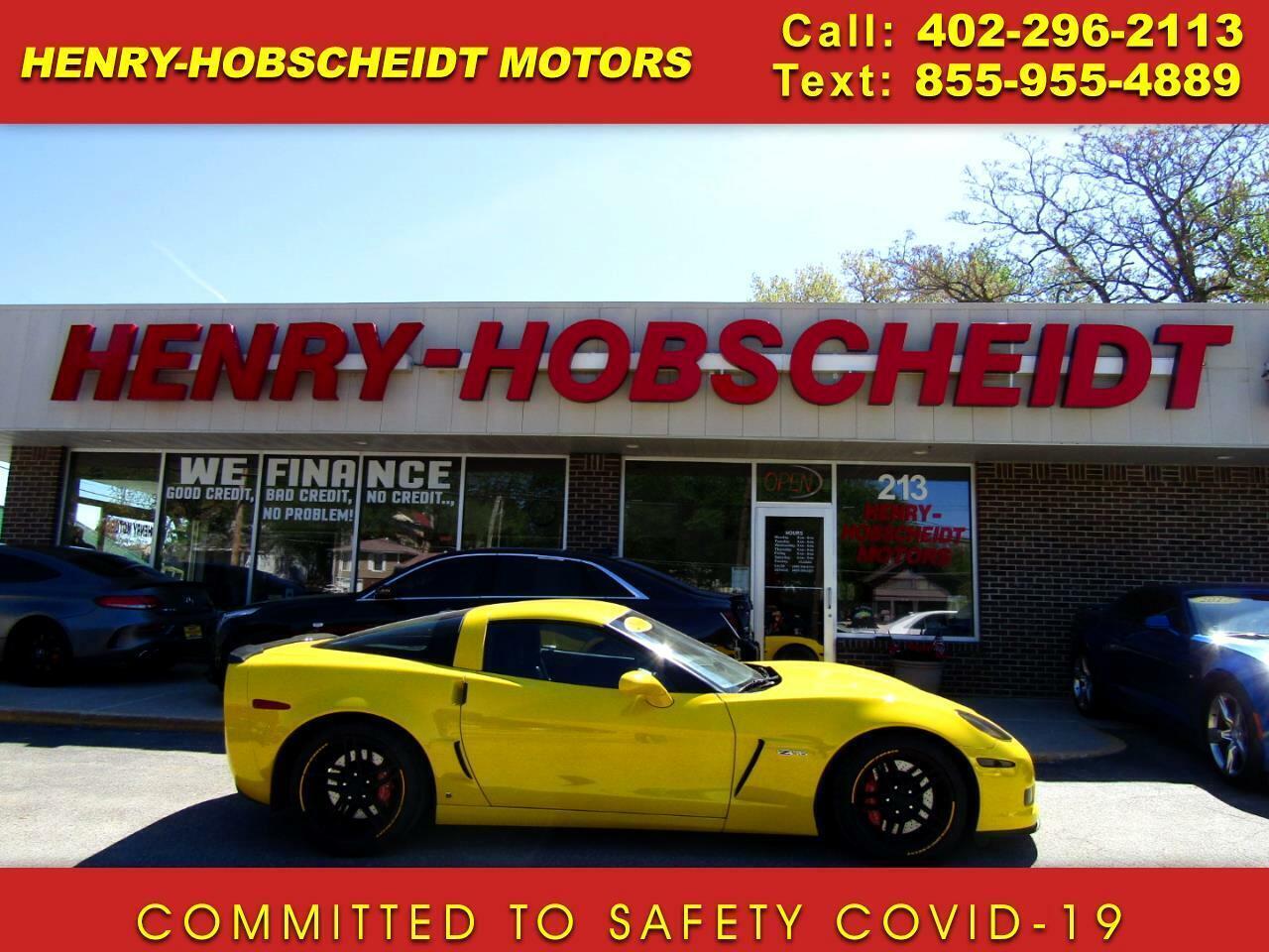 2006 Yellow Chevrolet Corvette Z06  | C6 Corvette Photo 1