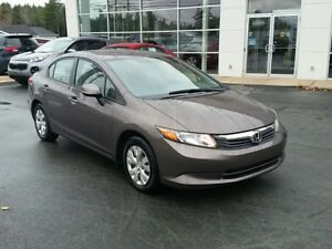 2012 Honda Civic LX Manual Value