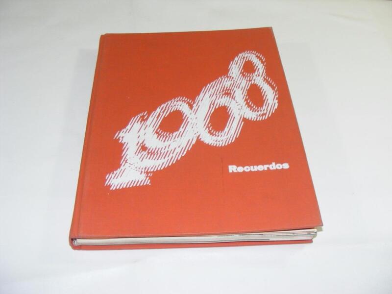 1968 Recuerdos Alemany High School Yearbook