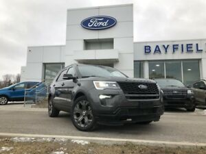 2018 Ford Explorer Sport HEATED SEATS|REMOTE START|REVERSE CA...