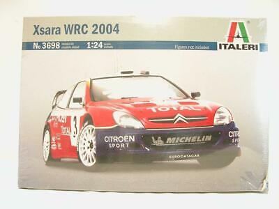 1/24 Italeri Citroen Xsara WRC Rally Race Car 2004 Plastic Model Kit 3698 Sealed