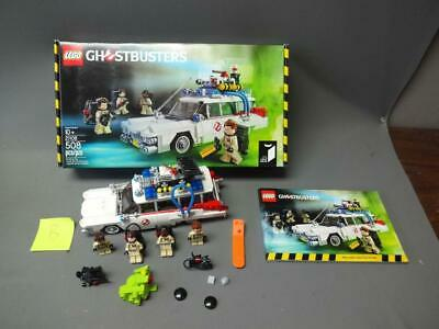 Lego - Ghostbusters - Ecto 1 - 21108 - With Box And Manual Slimer Incomplete (B)
