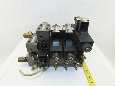 Daikin Jso-g02-2na-20-dn 43 Way Hydraulic Regulated Check Valve Manifold Assy