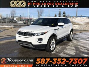 2013 Land Rover Range Rover Evoque Pure + / Headed Leather seats