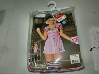 Baseball Girl Halloween (Womens SEXY THE BABE BASEBALL GIRL Halloween Costume)