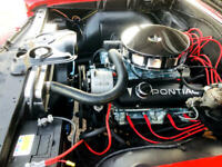 Miniature 23 Voiture Américaine de collection Pontiac GTO 1966