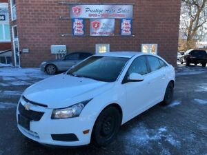 2011 Chevrolet Cruze Eco w/1SA/ONE OWNER/NO ACCIDENT/CERTIFIED/W