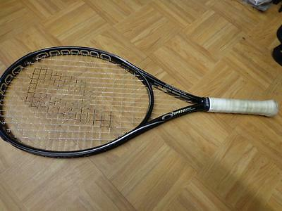 Prince O3 SpeedPort Platinum Oversize 125 head 4 1/2 grip Tennis Racquet