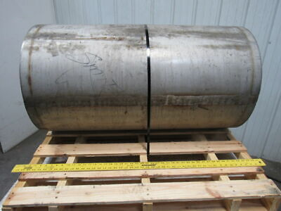 Stainless Steel 43-34w X 24d Conveyor Drum Drive Pulley 2-716 Keyed Bore