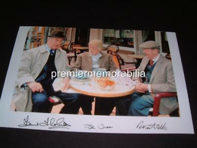 LAST OF THE SUMMER WINE SIGNED REPRINT PHOTO BILL OWEN PETER SALLIS THORNTON