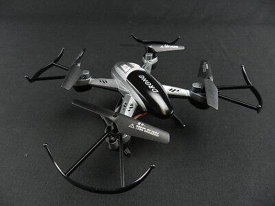 Kingco K66W R/C 4ch 2.4G quadcopter with 0.5MP Camera & Wifi Gray/Vicious