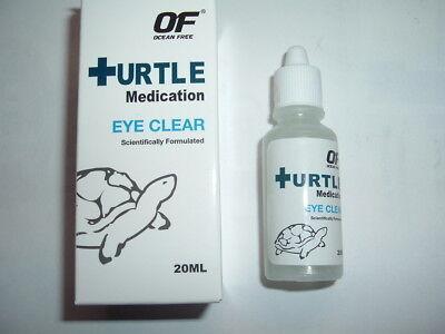 - OCEAN FREE  EYE CLEAR MEDICATION for TURTLE/TORTOISE/TERRAPIN