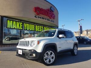 2017 Jeep Renegade Limited NAVI LEATHER 4X4 REAR CAM