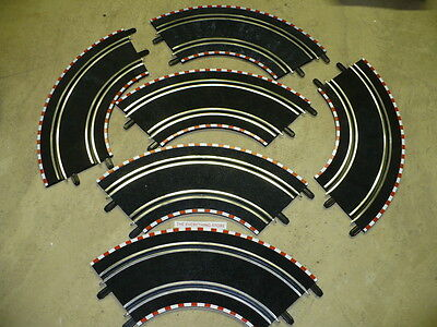 Scx Compact 1 43 Slot Car  6  Corner Tracks New Free Ship