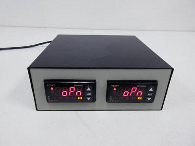 2x Autonics Tc3yt Tc3yt-b4r16 Temperature Controller