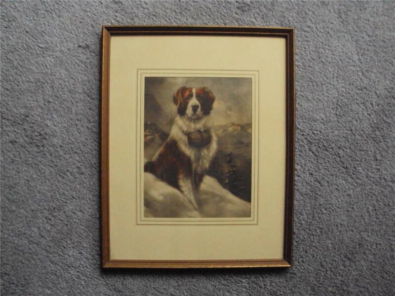 HOUSE OF ART NEW YORK REINTHAL & NEWMAN ST. BERNARD DOG HERO #7492  NOT PARRISH