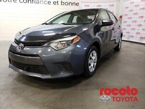 2016 Toyota Corolla * LE ECO * BLUETOOTH * CAM DE RECUL * LE ECO