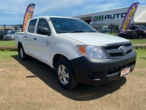 2006 Toyota Hilux TGN16R MY05 Workmate 4x2 White 5 Speed Manual Utility Durack Palmerston Area Preview