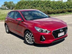 2017 Hyundai i30 PD MY18 Active Red 6 Speed Sports Automatic Hatchback Garbutt Townsville City Preview