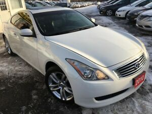 2010 Infiniti G37X  Premium/AWD/Navi/Back-up Camera/mint