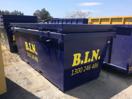 "B.I.N skip hire special ""quote frugal friday"" $55 off 6m3 skips"