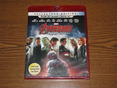 Avengers: Age of Ultron (Blu-ray Disc, 2015, No Digital Copy