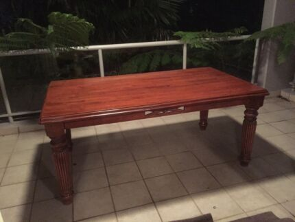Wooden Dining table set 6 seater Canada Bay Canada Bay Area Preview