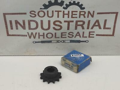 """Martin 40BS12 3/4 40 / 1/2"""" Bored to Size 0.75""""Bore 12 Teeth Sprocket Lot of 2"""