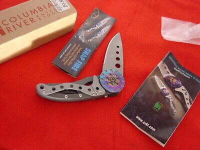 "CRKT Columbia River 3-7/8"" Snap Fire Roll Open Lock Blade"