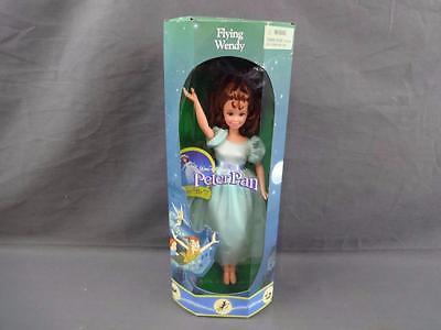 "1993 Mattel Disney Exclusive Flying Wendy 10"" Doll Peter Pan 19297 Mint in Box"