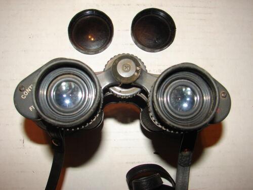 Vintage Continental Optics Statesman 7x35 Light Weight Binoculars w/ Case