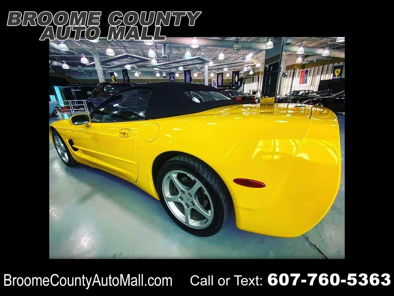 2002 Yellow Chevrolet Corvette Convertible  | C5 Corvette Photo 1