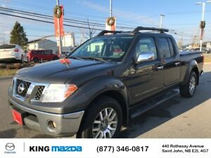 2012 Nissan Frontier SL HEATED LEATHER..POWER ROOF..BLUETOOTH...