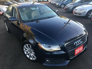 2010 Audi A4 2.0T Premium /NAVI/BACKUP CAMERA/LEATHER/SUNROOF