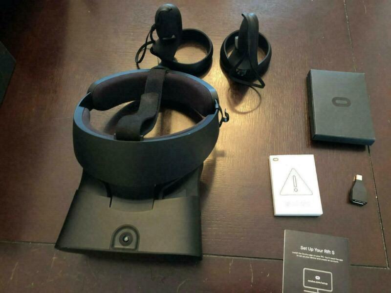 Oculus Rift S Pc VR Gaming Headset 301-00178 IN ORIGINAL BOX