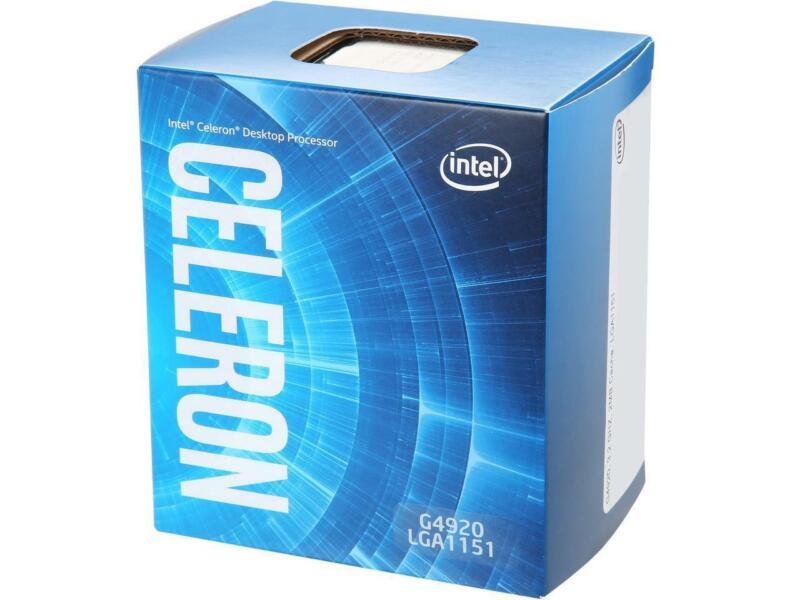 Intel Celeron G4920 Coffee Lake Dual-core 3.2 Ghz Lga 1151 (300 Series) 54w Bx80