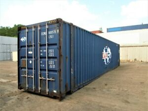 45' HIGH CUBE. LARGE STORAGE CONTAINER. Shipping container.