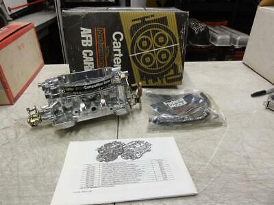 New Carter AFB 500 CFM Chokeless Dual Quad Carburetor Tunnel Ram 9502 9502S #2