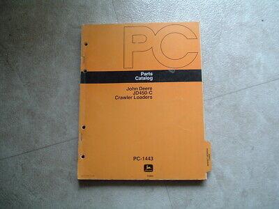 John Deere Jd450-c Crawler Loaders Parts Catalog Manual Pc-1443 T43695