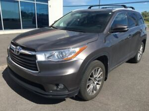 2016 Toyota Highlander XLE AWD 7PASS. CUIR TOIT GPS SIEGES CHAUF