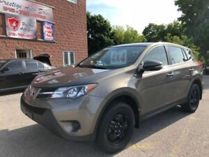 2013 Toyota RAV4 4WD/LE/NO ACCIDENT/CERTIFIED/WARRANTY INCLUDED