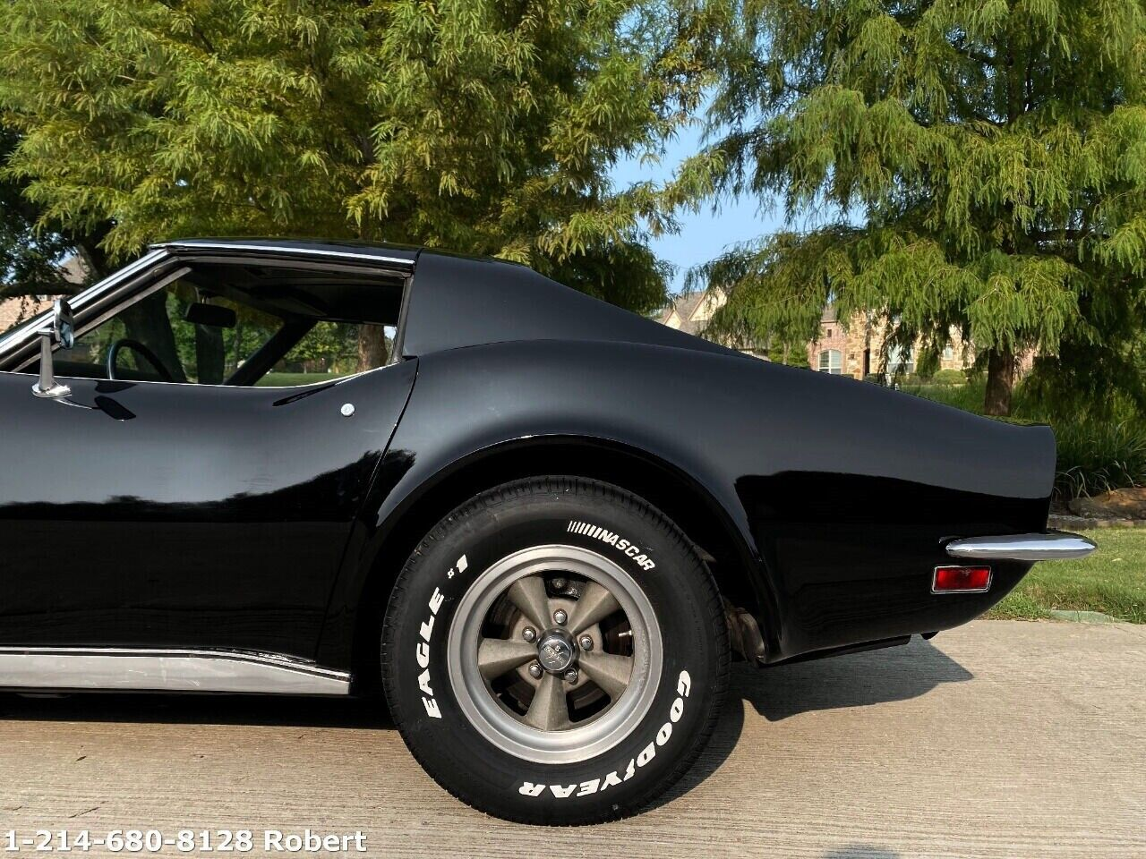 1973 Black Chevrolet Corvette   | C3 Corvette Photo 9