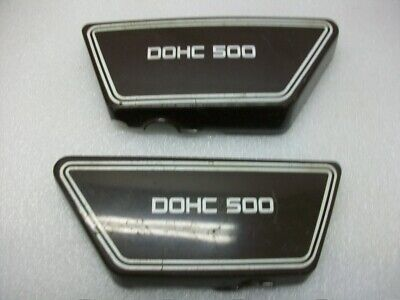 1976 Yamaha Dohc 500 xs500 Yamaha fairing side cover cowl