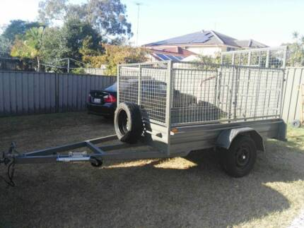 8x5 cage trailer with ramp for hire Rooty Hill Blacktown Area Preview