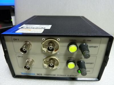 Tektronix 1103 Tekprobe Dual Power Supply Wcables Included