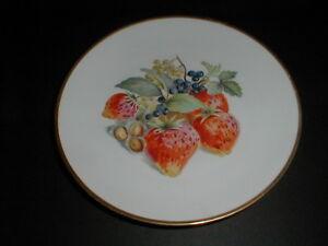 baronet china eschenbach bavaria germany strawberry salad plate loc h10. Black Bedroom Furniture Sets. Home Design Ideas