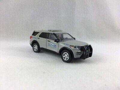 RHODE ISLAND STATE POLICE CUSTOM 2020 FORD EXPLORER SUV - 1/64 SCALE